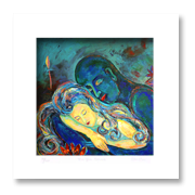 lovers painting-ideal anniversary gift